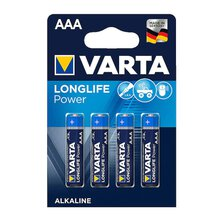 Varta - Longlife Power/High Energy AAA/Micro 1,5V Bl.4Stck.