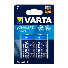 Varta - Longlife Power/High Energy C/Baby 1,5V Bl.2Stck.
