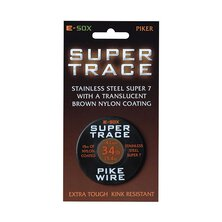 Drennan - E-Sox - Super Trace, 28lb / 0,38 mm - Pike Wire