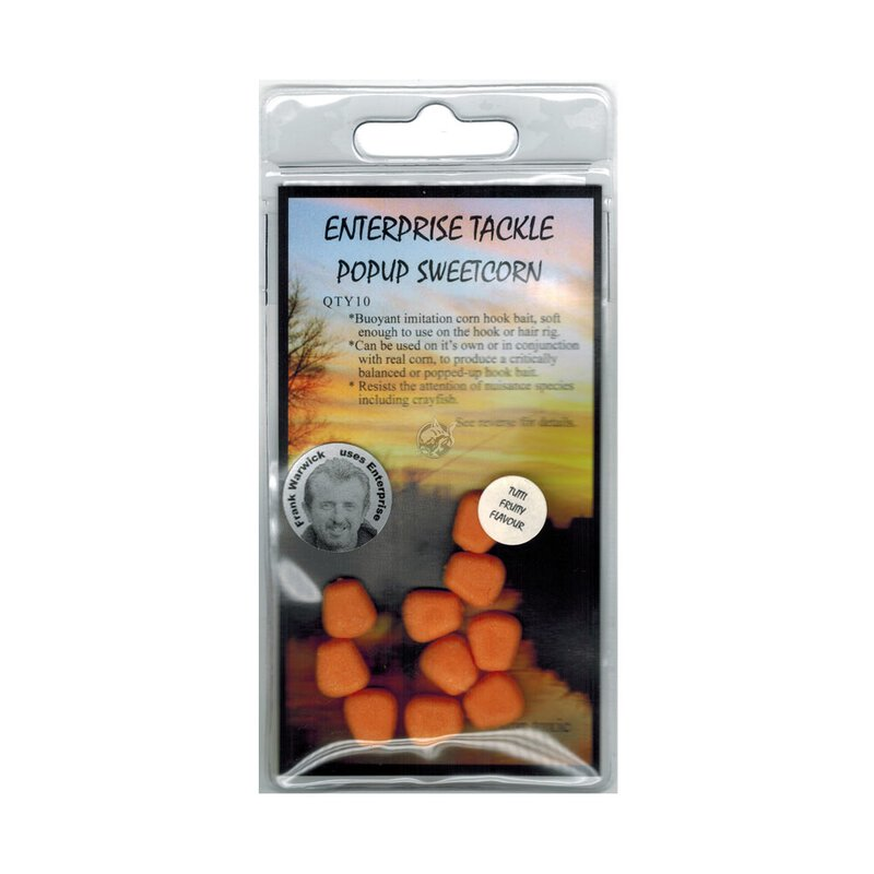 Enterprise Tackle - Pop Up Sweetcorn - Flavoured - Orange...