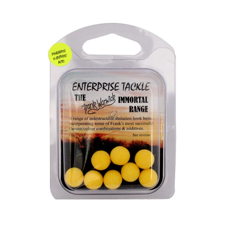 Enterprise Tackle - 10mm Hookbaits - Yellow Pineapple