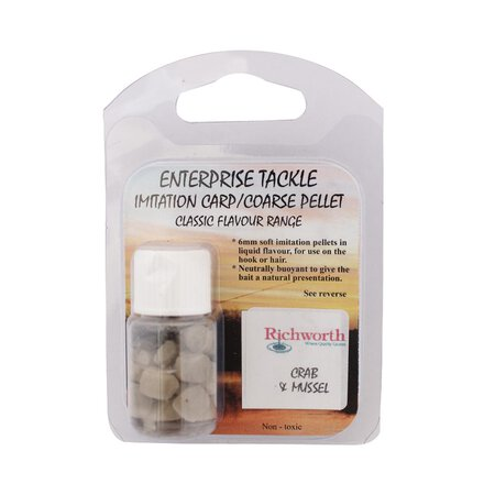 Enterprise Tackle - Pelletimitate - Classic Flavour Range 6mm - RW Crab & Mussel