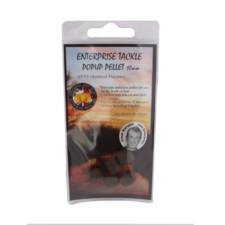 Enterprise Tackle - Pelletimitate - Pop Up - 10mm (Medium) - Seafood