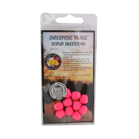 Enterprise Tackle - Pop Up Sweetcorn - Unflavoured - Fluoro Pink
