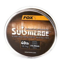Fox - Submerge Sinking Braid - Dark Camo - 25lb / 0.16mm...