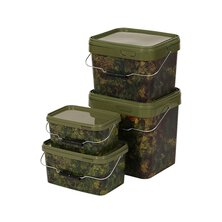 Gardner Tackle - Camo Square Bucket 10l