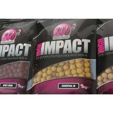Mainline - High Impact Boilies Salty Squid 1kg 15mm