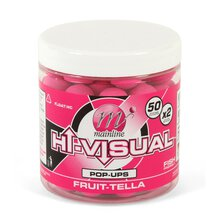 Mainline - Hi-Visual Pop-ups 15mm - Pink Fruit-tella