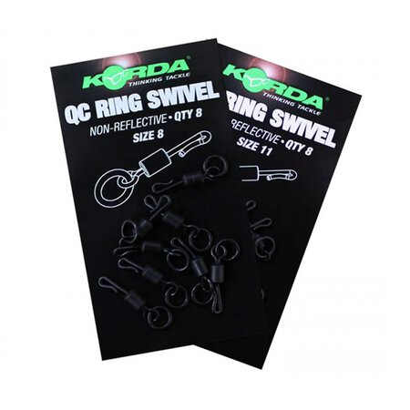 Korda - QC Ring Swivel # 8