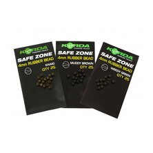 Korda - Safe Zone 4mm Rubber Bead Green