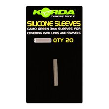 Korda - Silicone Sleeves - Weedy Green