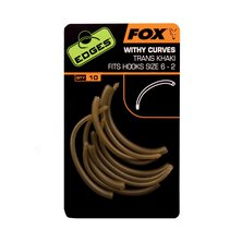 Fox - Edges Withy Curve Adaptor Hook - Size 6+ - Khaki