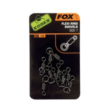 Fox - Edges Flexi Ring Swivel - Size 7