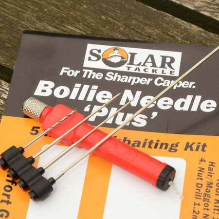 Solar Tackle - Boilie Needle+ Red