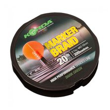 Korda - Marker Braid 20lb 0,16mm 300m Dark Green