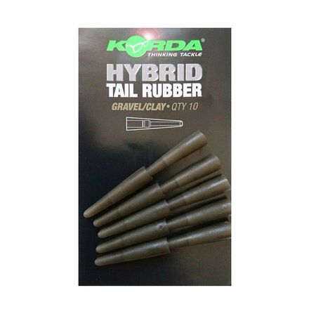 Korda - Hybrid Tail Rubber - Gravel/Clay