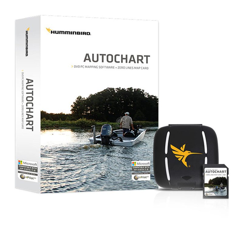 humminbird auto chart pro pc software mit zero line sd. Black Bedroom Furniture Sets. Home Design Ideas