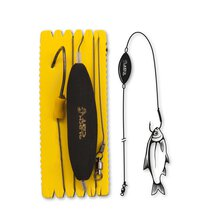 Black Cat - U-Float Rig Einzelhaken 120cm - XL 10/0