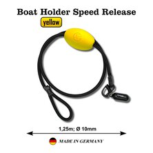 Poseidon - Boat Holder Speed Release yellow