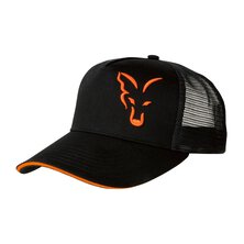 Fox - Black/Orange Trucker Cap