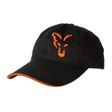 Fox - Black/Orange Baseball Cap