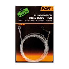 Fox - Fluorocarbon Fused Leader Kwik Change Swivel 30 LB