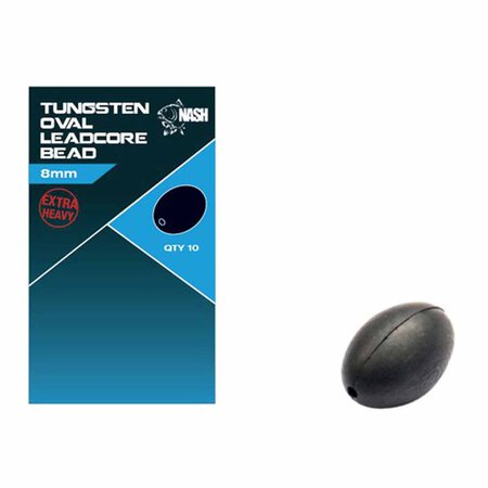 Nash - Tungsten Oval Leadcore Bead