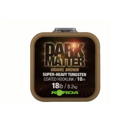Korda - Dark Matter Tungsten Coated Braid - Gravel Brown - 25lb 10m
