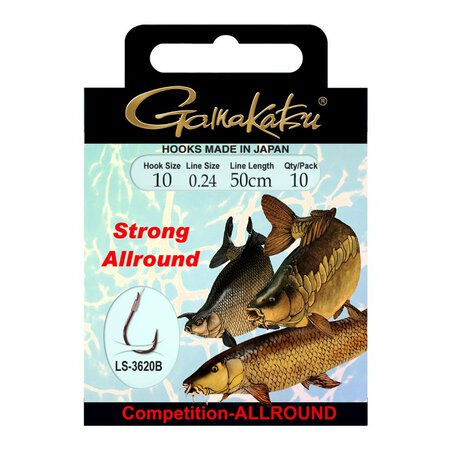 Gamakatsu - Competition Allround Strong LS-3620 - Size 6 - 0,26mm