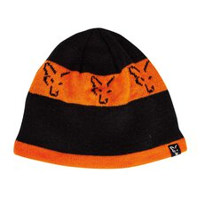 Fox - Black/Orange Beanie