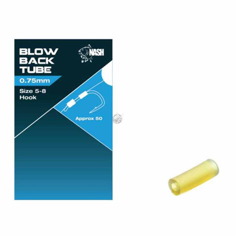 Nash - Blow Out Tube - 0,75mm Hooksize 5-8