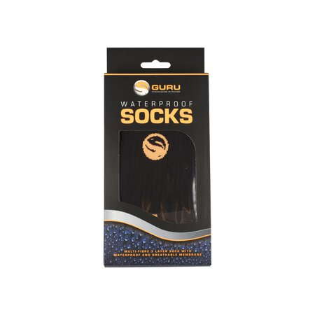 Guru - Black Waterproof Socks