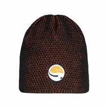 Guru - Skull Cap Black Orange