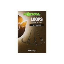 Korda - Loop Rigs Krank Barbless 18lb/8,2kg