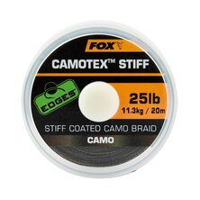 Fox - Edges Camotex Stiff Coated Camo Braid 25lb - 20m