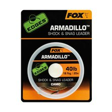 Fox - Edges Camo Armadillo Shock & Snag Leader 30lb - 20m