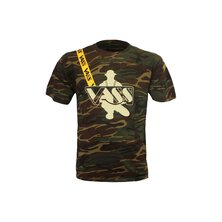 VASS - Classic Printed Camou T-Shirt inc Yellow strap