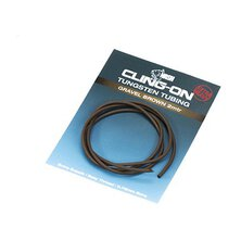 Nash - Cling-On Tungsten Tubing - Gravel Brown