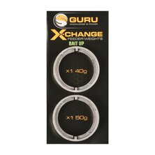 Guru - X-Change Bait Up Feeder Weights 40g+50g