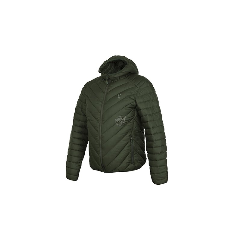 Fox - Green/Silver Quilted Jacket Collection