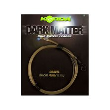 Korda - Dark Matter Leader Size 8 Ring Swivel 50cm