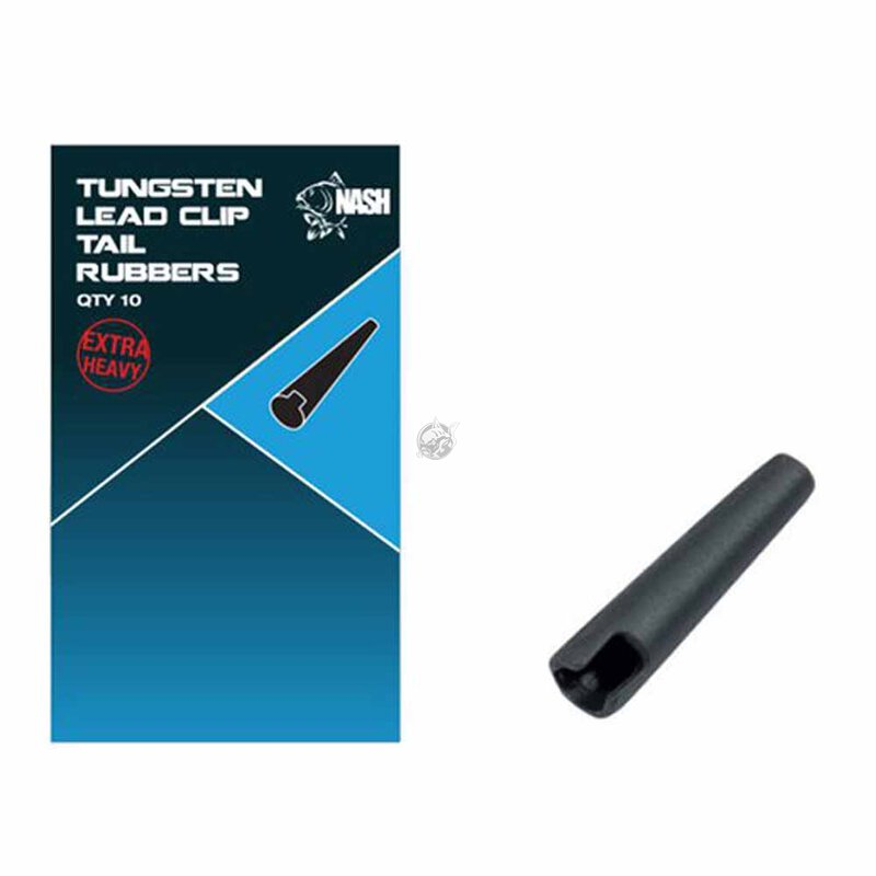 Nash - Tungsten Lead Clip Tail Rubber