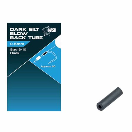 Nash - Blow Back Tube Dark Silt 0.5mm