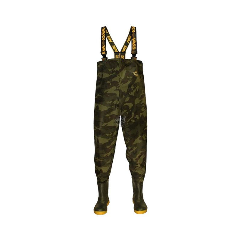 VASS - Tex 785 Heavy Duty Camouflage Chest Wader Size 7 /...