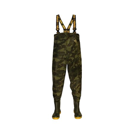 VASS - Tex 785 Heavy Duty Camouflage Chest Wader Size 11 / 46