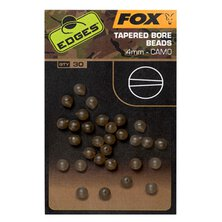 Fox - Edges Camo Tapered Bore bead 4mm