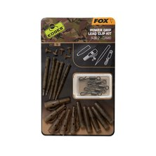 Fox - Edges Camo Power Grip Lead Clip kit - Size 7