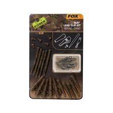 Fox - Edges Camo Slik lead clip kit - Size 10