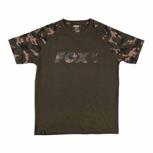 Fox - Black / Camo print T-Shirt - M
