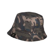 Fox - Khaki / Camo reverse bucket hat